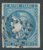 Lot N°57409  N°44,45 Ou 46 ???, Oblit GC, Belles Marges - 1870 Bordeaux Printing