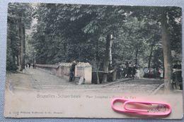 SCHAERBEEK : Entrée Du Parc Josaphat En  1905 - Schaarbeek - Schaerbeek