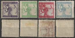 1920 SHS Yugoslavia Slovenia / Lithography VERIGARI Chain Breaker - MH Set - Unused Stamps