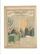 Déclaration Des Droits De L'Homme Souveraineté Nationale Didactique Protège-cahier Couverture 220 X175 TB 3 Scans RARE - Schutzumschläge