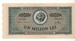 ROMANIA  1'000'000 Lei     P60a   Dated  16-4-1947 - Roemenië