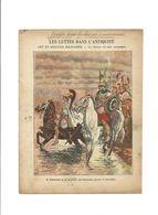 ALEXANDRE LE GRAND Bucéphale Antiquité Didactique Protège-cahier Couverture 220 X 175 Bien 3 Scans RARE - Schutzumschläge