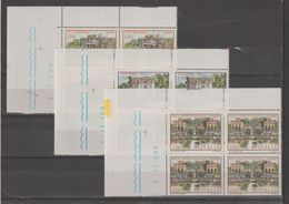 REPUBBLICA:  1982  VILLE  LAZIALI  -  S. CPL. 3  VAL. BL. 4  N. -  SASS. 1610/12 - Blocchi & Foglietti