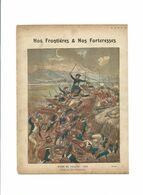 TOULON Le Siège Fort Mulgrave  Frontières & Forteresses Didactique Protège-cahier Couverture 220 X 175 TB 3 Scans RARE - Schutzumschläge