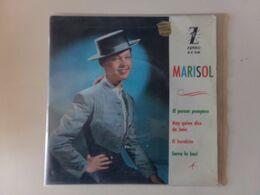 "45 T Marisol "" El Porom Pompero + 3 Titres "" - Vinyl-Schallplatten"