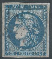 Lot N°57419  N°44,45 Ou 46 ???, Oblit GC, Belles Marges - 1870 Bordeaux Printing
