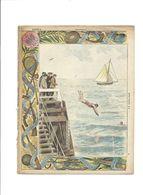 SPORT NATATION  Didactique Protège-cahier Couverture 220 X 175 Bien 3 Scans RARE - Schutzumschläge