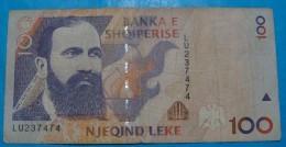 ALBANIA 100 LEKE 1996, VF. RARE - Albanië