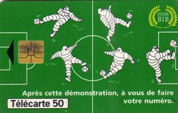 Pub Bibendum Michelin - 1998 BIB - France 98 Coupe Du Monde - Télécarte 50 - Sport