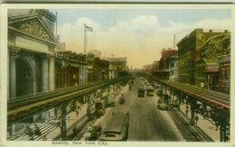 U.S.A. - BOWERY - NEW YORK CITY - 1940s (BG9307) - New York City