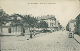 44 NANTES / Place Et Rue Lamoriciere / - Nantes