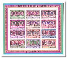 St. Vincent 1977, Postfris MNH, Silver Jubilee Of Queen Elizabeth II - St.Vincent Y Las Granadinas