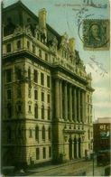 U.S.A. - LNEW YORK - HALL OF RECORDS - CHAMBER ST. - MAILED 1908  (BG9309) - New York City