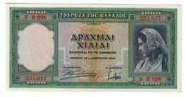 GREECE1000DRACHMAI01/01/1939P110UNC.CV. - Griekenland