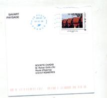 Lettre Flamme Neopost Muette Poste 22014A Sur Timbre à Moi Maison - Marcophilie (Lettres)