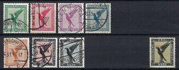 ALLEMAGNE Poste Aérienne 1926-1927:  Les Y&T 27-33 Obl. Et 34 Neuf* - Gebraucht