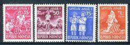 INDONESIE: ZB 129/132 MNH** 1954 Ten Bate Van Het Kind - Indonesia