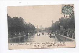 CPA -   Fêtes De Lille - 26 Juin 1905 - La Joûte Sur L'eau - A L'eau - Lille