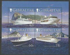Gibraltar 2006 Yvertn° Bloc 74 *** MNH Cote 11 €  Bateaux Ships Boten - Gibraltar