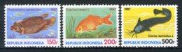INDONESIE: ZB 1306/1308 MNH** 1987 Vissen - Indonesia