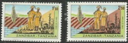 ZANZIBAR- VOLUNTEERS; BIRDS; LAST ISSUE BY ZANZIBAR - Zanzibar (1963-1968)