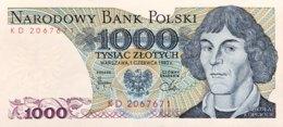 Poland 1.000 Zlotych, P-146c (1.6.1982) - UNC - Polonia