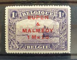 Belgique Belgium COB OC 61 MNH** Centrage TTB Cote 90 € - [OC55/105] Eupen/Malmedy