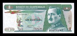 Guatemala 1 Quetzal 1986 Pick 66 SC UNC - Guatemala