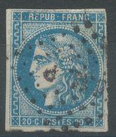 Lot N°57439  N°44,45 Ou 46 ???, Oblit Losange Des Ambulants à Déchiffrer - 1870 Bordeaux Printing