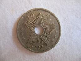 Congo Belge 10 Centimes 1927 - Zonder Classificatie