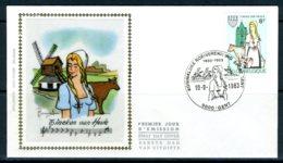 (B) 2100 FDC Z/s 1983 - 20ste Tinekesfeesten Te Heule. - 1981-90