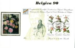 (B) BL67 FDC Z/s 1990 - Belgica 90 - 1981-90