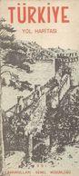 TURQUIE - 1 : 2.500.000 - INDEX Des MONUMENTS HISTORIQUES Et Des RUINES Et INDEX De La POPULATION (1951) - Carte Stradali