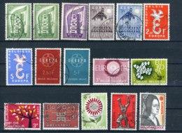 (B) Lot Zegels Europa  (1956 - 1975) -3 - Gebruikt