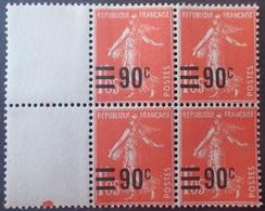 R1615/2255 - 1926/1927 - TYPE SEMEUSE FOND LIGNE - N°227 BLOC NEUF** - 1906-38 Sower - Cameo
