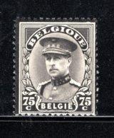 384 MNH 1934 - Rouwzegel Van Koning Albert 1 - 1931-1934 Kepi