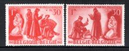 623/624 MNH 1943 - Ten Voordele Van De Krijgsgevangenen En Hun Gezinnen. - Belgio