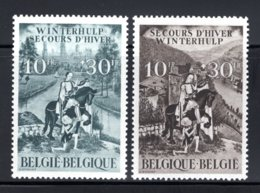 639/640 MNH 1943 - Achtste Winterhulpuitgifte. - Belgium