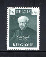 813 MNH 1949 - Vijftigste Verjaardag Overlijden Guido Gezelle - Belgio
