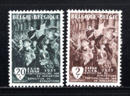 971/972 MNH 1955 - Tentoonstelling Van De Romantiek. - Belgium