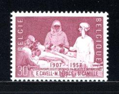 1038 MNH 1957 - Ziekenverpleegsterschool. - Belgium