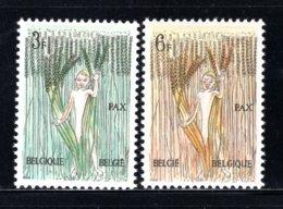 1251/1252 MNH 1963 - 8 Mei-beweging Voor De Vrede. - Belgium