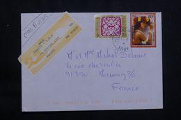 POLYNÉSIE - Enveloppe De Arue En 2000 Pour La France - L 65932 - Polynésie Française