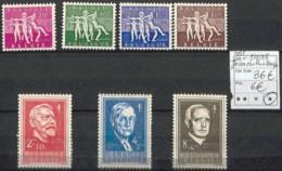 NB - [844925]TB//*/Mh-c:36e-Belgique 1955 - N° 979/85, Joies Du Printemps - Unused Stamps