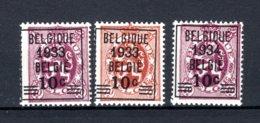 375A/376 MNH** 1933-1934 - Heraldieke Leeuw - 1929-1937 Heraldieke Leeuw