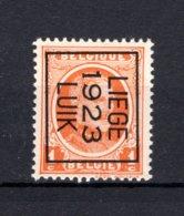 PRE76B MNH** 1923 - LIEGE 1923 LUIK - Typo Precancels 1922-31 (Houyoux)