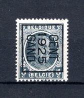 PRE124B MNH** 1925 - GENT 1925 GAND - Typo Precancels 1922-31 (Houyoux)