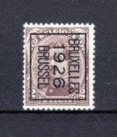 PRE128B MNH** 1926 - BRUXELLES 1926 BRUSSEL - Typografisch 1922-26 (Albert I)