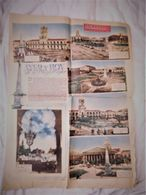 Democracia Argentine Newspaper Journal Suplement 1952 Plaza De Mayo Buenos Aires 4 Pages  #15 - Bücher, Zeitschriften, Comics