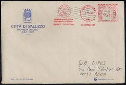 ITALIA SALUZZO (CN) 1993 - METER / EMA CAMPIONATI DEL MONDO DI BOCCE / XXV COPPA PRINCIPE DI MONACO - VIAGGIATA - Bowls
